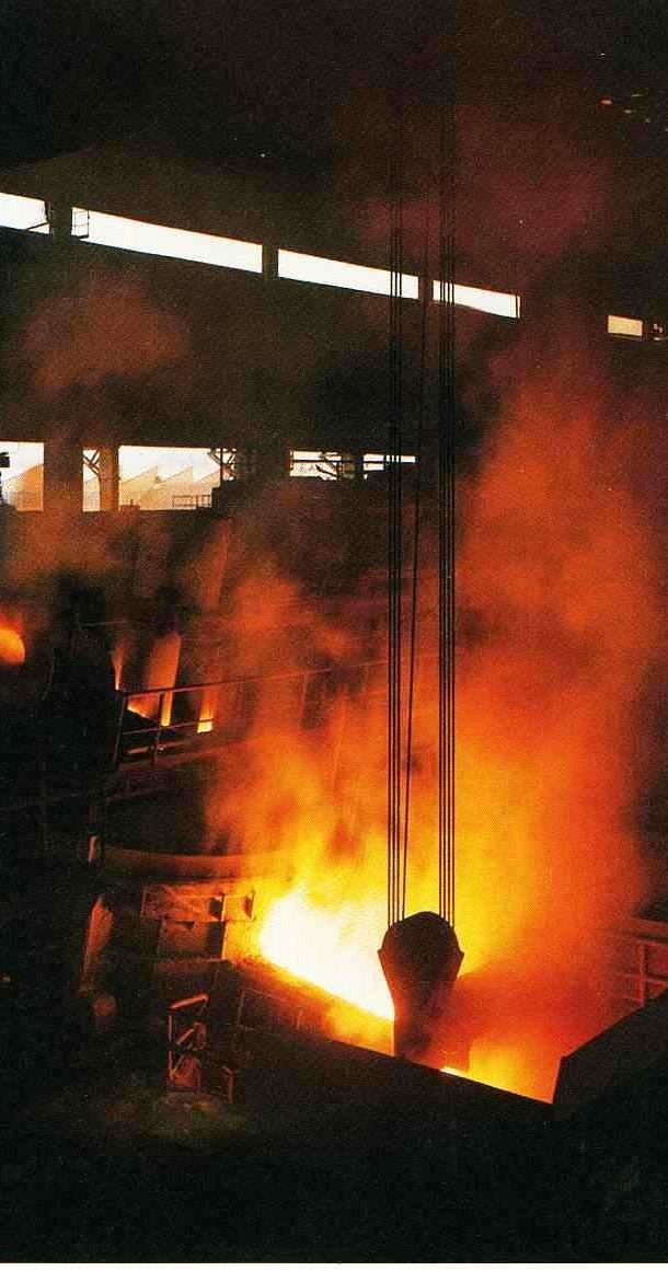 Impianti e macchine per la siderurgia