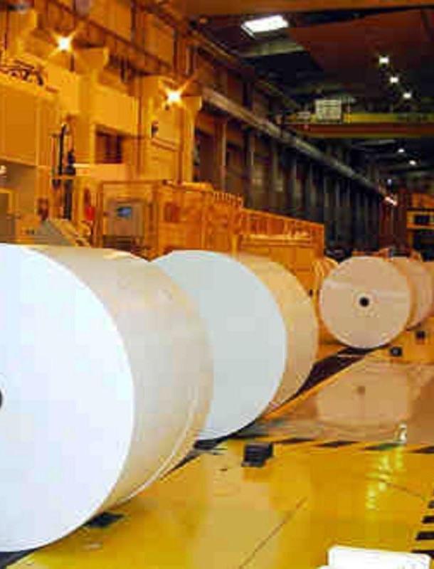 impianti e macchine per la lavorazione della ceramica per l'industria cartaria
